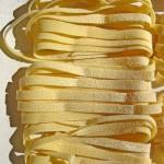 tagliatelles types de pâtes italiennes en ruban